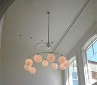 Installed in the Foyer at the Hamptons, NY